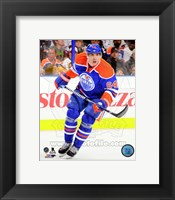 Framed Nail Yakupov on ice 2013-14