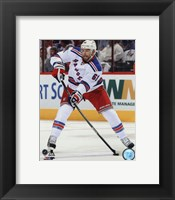 Framed Rick Nash 2013-14 Action