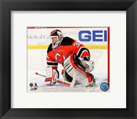 Framed Martin Brodeur Hockey Goaltending