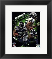 Framed Marshawn Lynch 2013 Portrait Plus