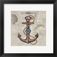 Framed Nautical Collection I - Mini
