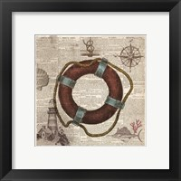 Framed Nautical Collection IV - Mini