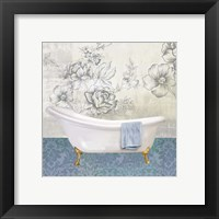 Garden Bath II - Mini Framed Print