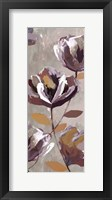 Framed Rising Magnolias I - Mini