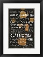 Framed Tea Collection - Mini