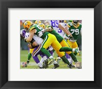 Framed Clay Matthews on the field 2013