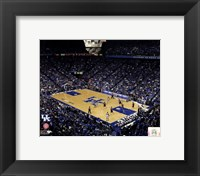 Framed Rupp Arena University of Kentucky Wildcats 2012