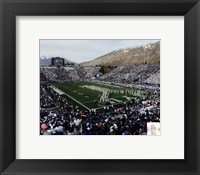 Framed LaVell Edwards Stadium BYU Cougars 2013