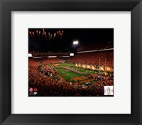 Framed Memorial Stadium Clemson University Tigers 2013