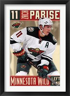 Framed Minnesota Wild - Z Parise 13