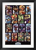 Framed Skylanders Swap Force -Swappables
