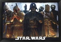 Framed Star Wars - Bounty Hunters