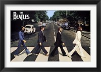 Framed Beatles - Abbey Road
