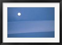 Framed Full Moon in Sky