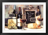 Les Fromages Framed Print
