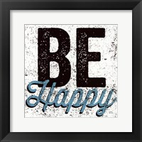 Framed Be Happy