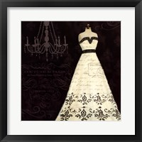 French Couture II Framed Print
