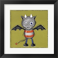 Monster Vampire Framed Print