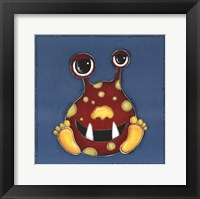 Red Monster Framed Print