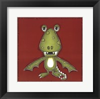 Green Monster Framed Print