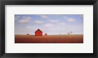 Framed In a Poppy Meadow