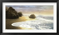 Framed Bodega Beach I