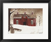 Framed New Fallen Snow