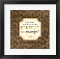 Life Does Not Framed Print