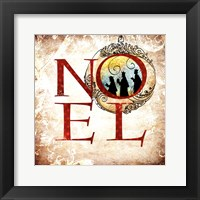 Framed Christmas Noel Kings