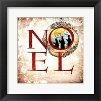 Framed Christmas Noel Kings