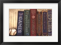 Sports and Games Framed Print