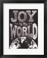 Framed Joy to the World