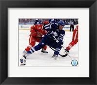 Framed James van Riemsdyk 2014 NHL Winter Classic Action