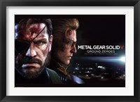 Framed MGS: Ground Zeroes - Big Boss