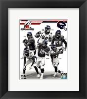 Framed Denver Broncos 2013 AFC Champions Team Composite