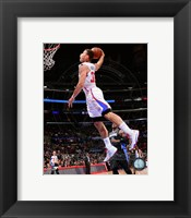Framed Blake Griffin 2013-14 basketball Action