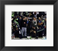 Framed Malcolm Smith & Richard Sherman Game Winning Interception 2013 NFC Championship Game