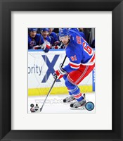 Framed Rick Nash Hockey Stickhandling