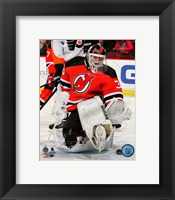 Framed Martin Brodeur 2013-14 Action