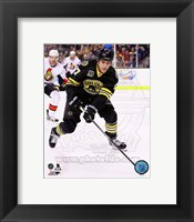 Framed Milan Lucic On Hockey Ice
