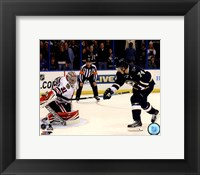 Framed T.J. Oshie 2013-14 Action