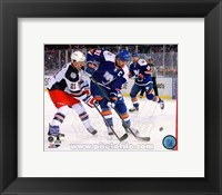 Framed John Tavares 2014 NHL Stadium Series Action