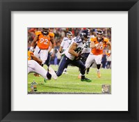 Framed Doug Baldwin Touchdown Super Bowl XLVIII Action