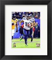 Framed Percy Harvin Touchdown Super Bowl XLVIII