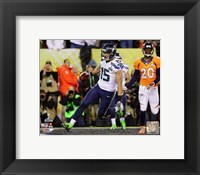 Framed Jermaine Kearse Touchdown Super Bowl XLVIII