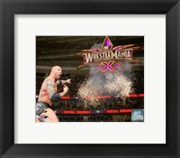Framed Batista 2014 Royal Rumble Action
