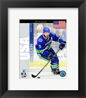 Framed Ryan Kesler - USA Portrait Plus