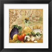 Italian Kitchen I Framed Print
