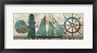Beautiful Sea Framed Print