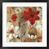 Ready for Red II Framed Print